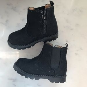 H&M toddler boots 🖤